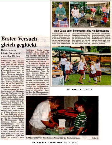 Walsroder Zeitung 07-2014